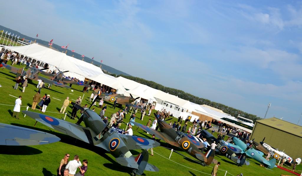 Spitfires.