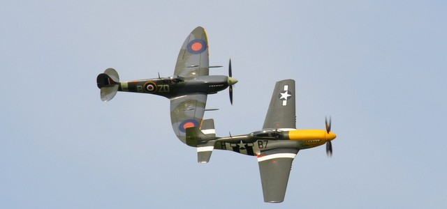 Spitfires – Goodwood Revival 2015