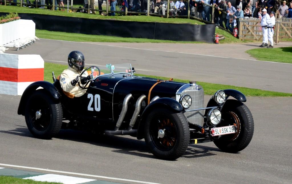 1929 Mercedes-Benz 710 SSK.