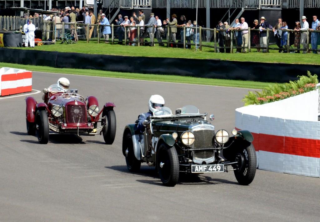 1930 Fraser Nash TT Replica.