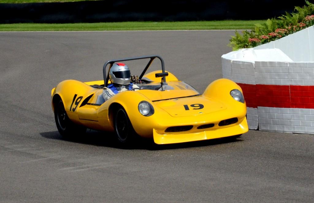Chris Locke driving the Classic Team Lotus Ltd 1965 Lotus Ford 30.