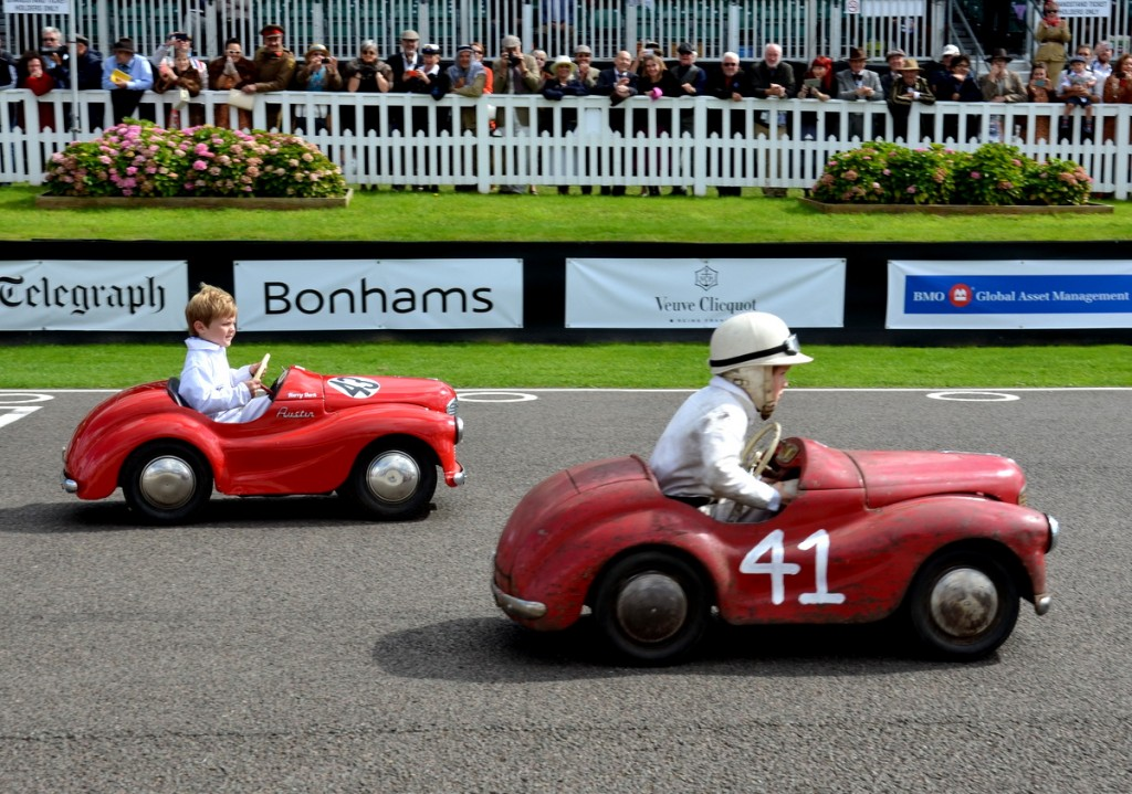 Settrington Cup, Austin J40 Pedal Car Race, Goodwood Revival 2015