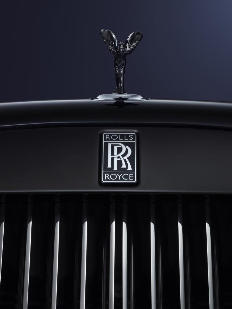 BLACK ROLLS ROYCE GRILL FRONT