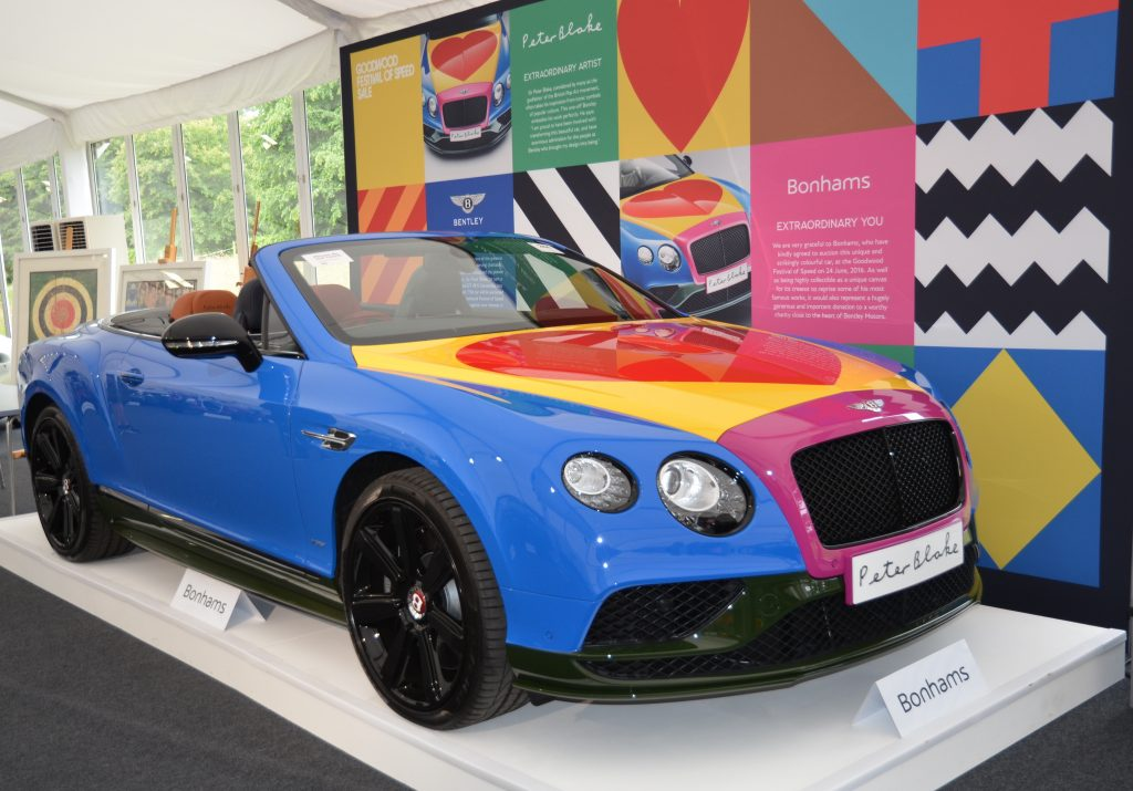 Bentley Continental GT V8 S Convertible Peter Blake