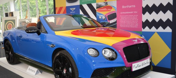 Bonhams Auction – Goodwood Festival of Speed – Peter Blake Bentley