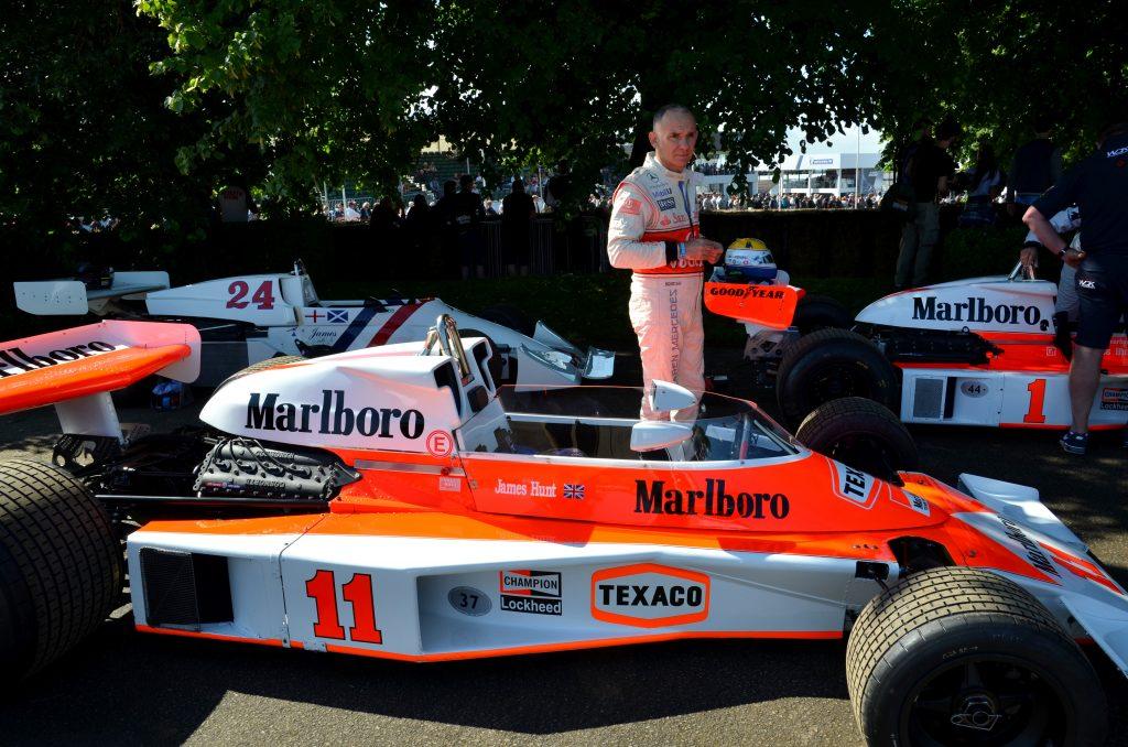 McLaren M23 James Hunt