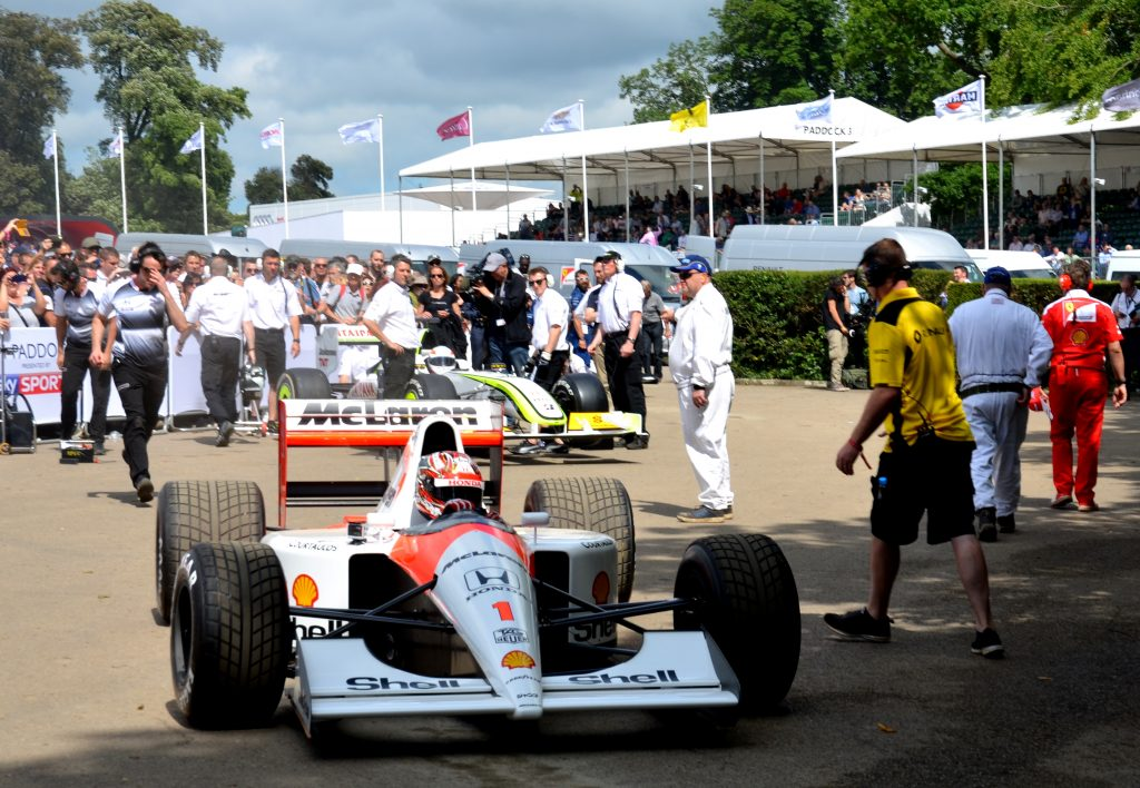 McLaren Honda MP4/6 Ayrton Senna