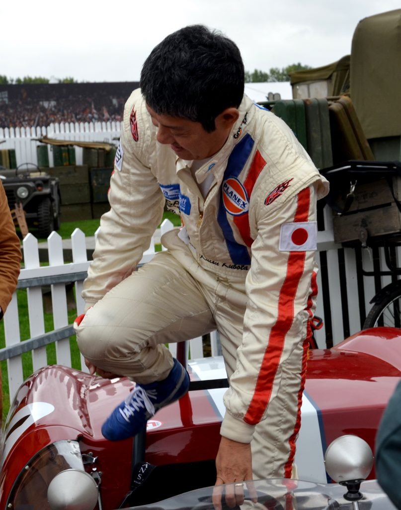 Katsuaki Kubota, Lotus 23, Madgwick Cup.
