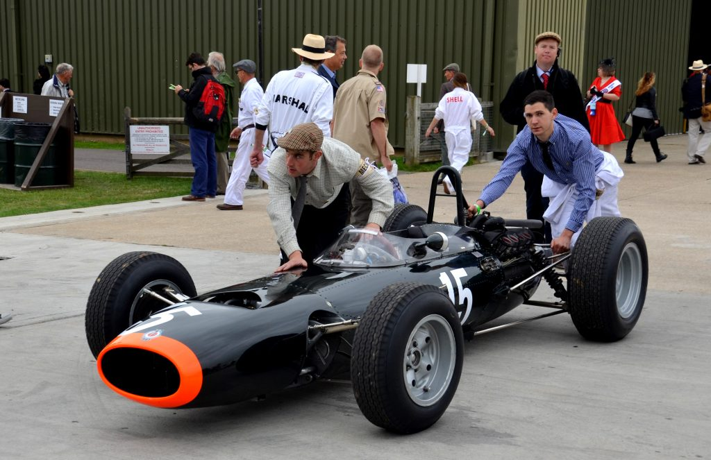 BRM P261, Richard Attwood, Glover Trophy.