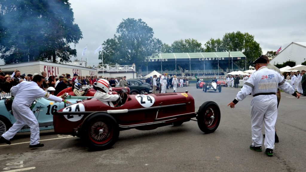 Alpha Romeo Tipo B, Goodwood Trophy.