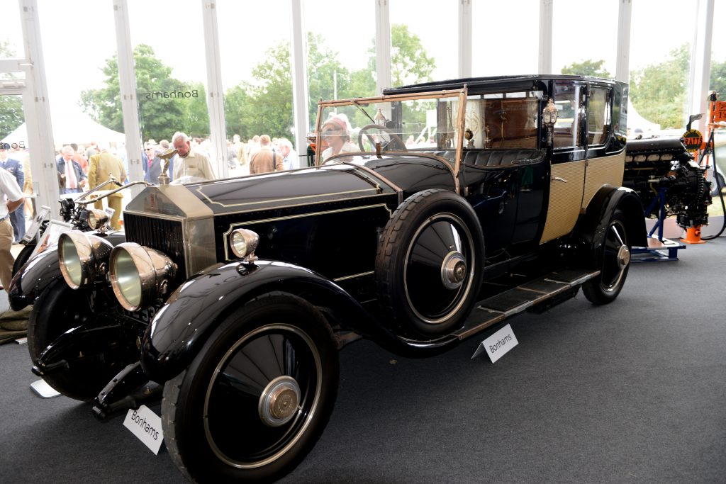 1926 Rolls Royce Phantom Bonhams Goodwood Revival