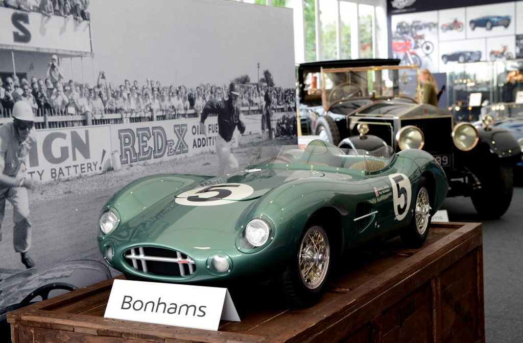 Aston Martin DBR1 approved 1959 Le Mans Tribute Car, half-scale model.