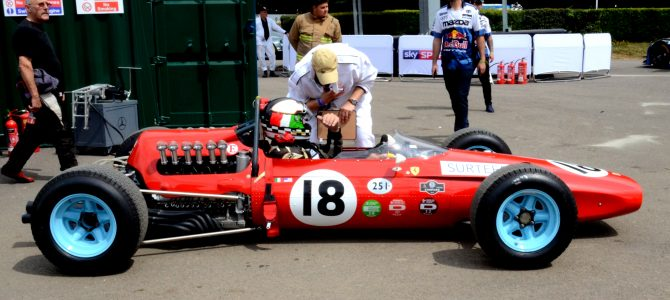 Modern and Historic Motor Racing Goodwood Festival of Speed – Ferrari, McLaren, Mercedes, Porsche