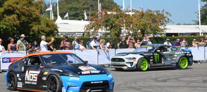 Videos Festival of Speed: Chaparrals, Mercedes, Drift Cars …