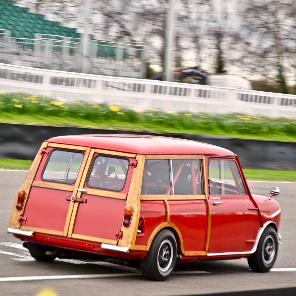 Mini Countryman in practice for the 77th Goodwood Members Meeting 2019.