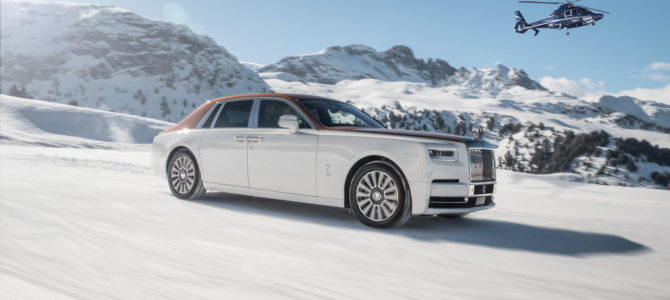 ROLLS-ROYCE GRACED THE SLOPES OF COURCHEVEL AND ST. MORITZ