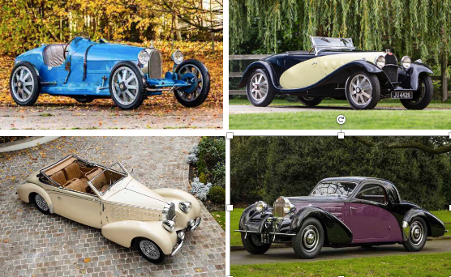 BUGATTIS HOLD COURT AT BONHAMS GRAND PALAIS SALE
